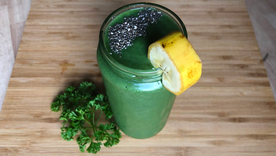 Image: The Green(Omlet) Smoothie Recipe