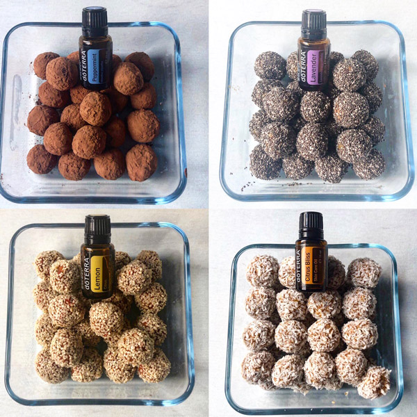 Image: Energy Balls – A Healthy Snack with Essential Oils