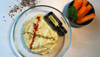 Image: Home-made Hummus Recipe
